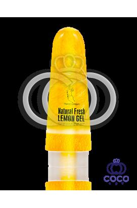 Крем для рук Wokali Natural Fresh Lemon Gel