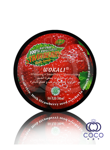 Скраб для тела Wokali Strawberry Body Scrub 300 Ml фото