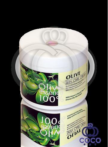 Крем для лица Wokali Olive Essence 100% Skin Care Cream 115 g фото