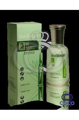 Эмульсия для лица с гиалуроновой кислотой и экстрактом алоэ Aloe Skincare Hyaluronic Acid & Aloe Extract Emultion Step 3