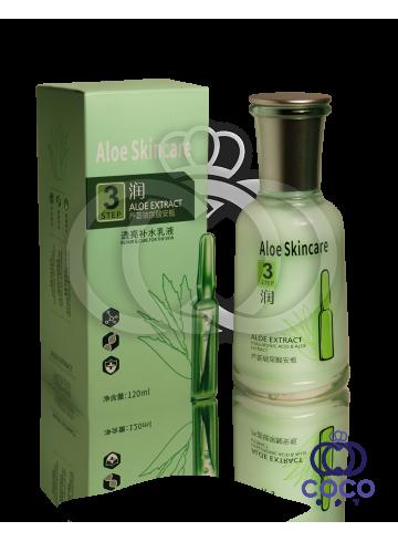 Эмульсия для лица с гиалуроновой кислотой и экстрактом алоэ Aloe Skincare Hyaluronic Acid & Aloe Extract Emultion Step 3 фото