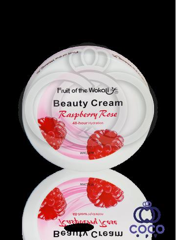 Крем Fruit of the Wokali Beauty Cream Raspberry Rose с экстрактом малины 150 g фото