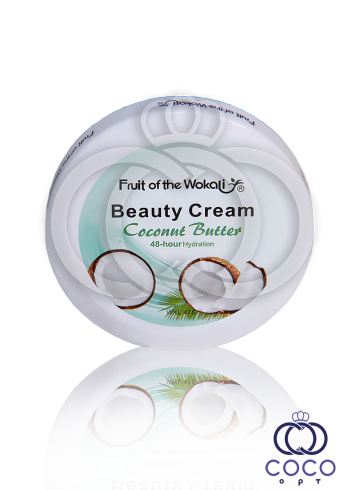 Крем Fruit of the Wokali Beauty Cream Coconut Butter с кокосовым маслом 150 g фото