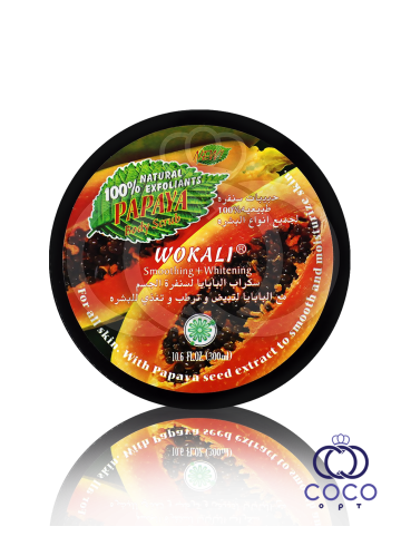 Скраб для тела Wokali Papaya Body Scrub 300 Ml фото