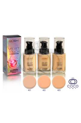 Тональный крем Gosh Velvet Touch Foundation
