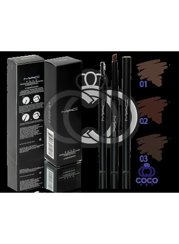 Карандаш для бровей механический MAC Double Automatic Rotating Eyebrow Pencil фото