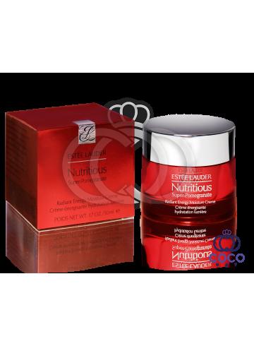 Увлажняющий крем с антиоксидантным комплексом для здорового сияния лица Estee Lauder Nutritious Super-Pomegranate ( качество оригинала) фото