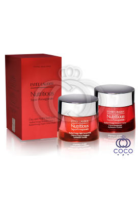 Набор  для восстановления кожи с комплексом антиоксидантов Estee Lauder Nutritious Super- Pomegranate Day and Night Radiance ( качество оригинала)