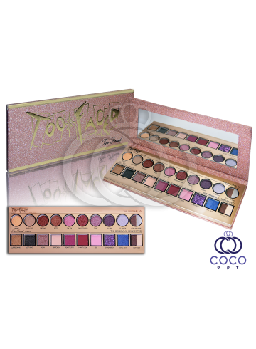 Палетка теней Too Faced 20 Years Then & Now Eyeshadow Pallette фото
