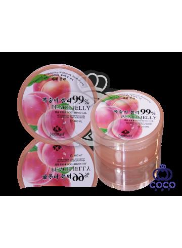 Гель для лица и тела Peach Jelly Soothing Gel (Персиковое желе) фото