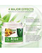 Скраб для лица и тела Aloe Scrub Massage Cream с экстрактом алоэ фото