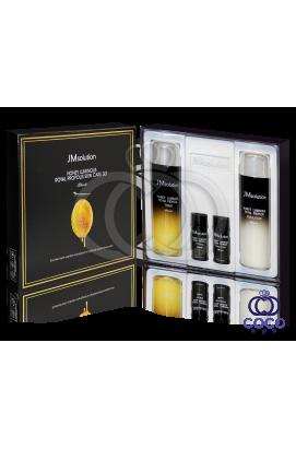 Набор для ухода за кожей JMsolution Honey Luminous Royal Propolis Skin Care Set с прополисом и маточным молочком