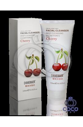 Нежная пенка для умывания и глубокого очищения пор Cherry с вишней