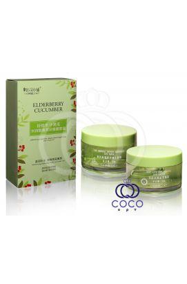 Интенсивный восстанавливающий комплекс для кожи вокруг глаз Eldberry Cucumber Hydra-Sleek Brightening Eye Cream Set