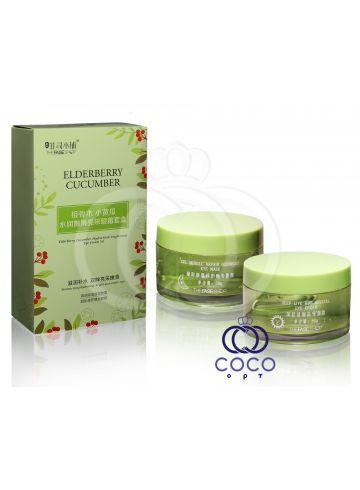 Интенсивный восстанавливающий комплекс для кожи вокруг глаз Eldberry Cucumber Hydra-Sleek Brightening Eye Cream Set фото