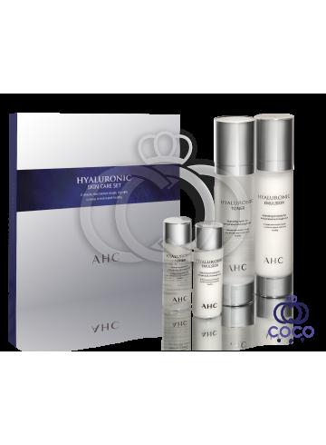 Набор по уходу за кожей с комплексом гиалуроновых кислот AHC Hyaluronic Skin Care Set ( качество оригинала) фото