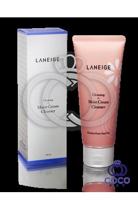 Увлажняющий очищающий крем для умывания Laneige Moist Cream Cleanser