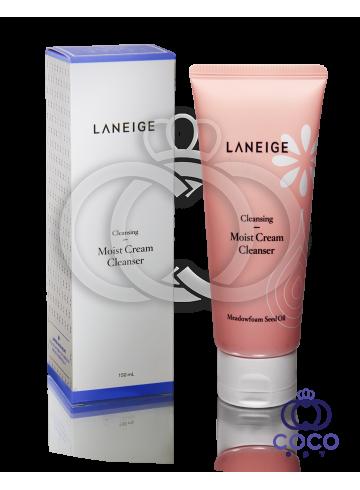 Увлажняющий очищающий крем для умывания Laneige Moist Cream Cleanser фото