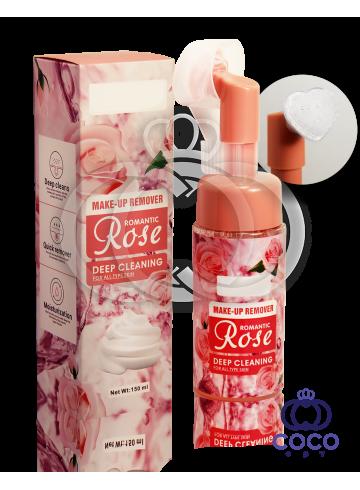 Мусс для умывания Make-Up Remover Romantic Rose с розой фото