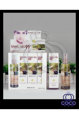 Фиксатор макияжа с муцином улитки Make Up Fix Snail Gel 99%