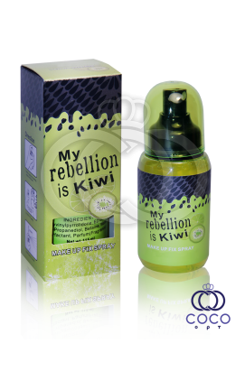 Фиксатор макияжа Rebellion Is Kiwi с экстрактом киви