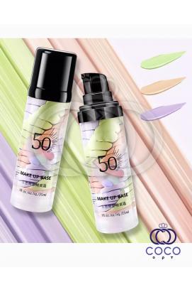 Основа под макияж Make Up Base 3 Spiral SPF 50 трёхцветная
