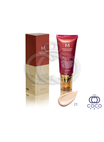 Крем тональный Missa Perfect Cover BB Cream SPF42/PA+++ номер 21 фото