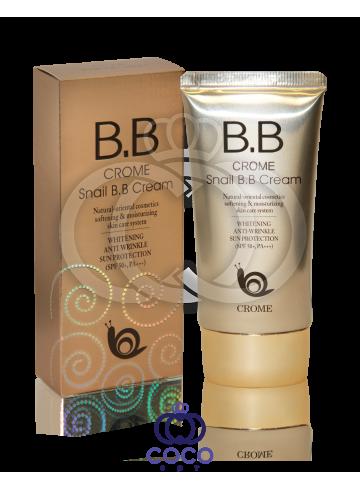 Крем BB Crome Snail B.B Cream SPF 50+ фото