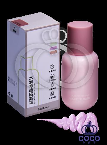 Основа под макияж Makeup Base Hyaluronic Isolation (01) с гиалуроновой кислотой фото