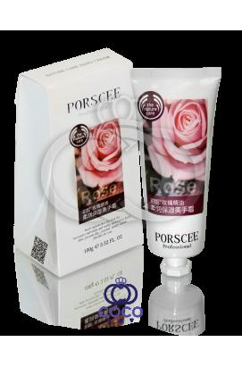 Увлажняющий и питательный крем для рук с экстрактом розы Porscee Rose