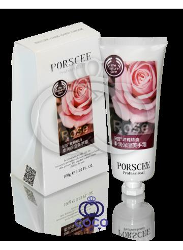 Увлажняющий и питательный крем для рук с экстрактом розы Porscee Rose фото