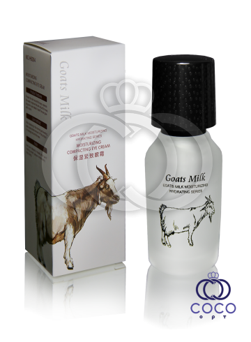 Увлажняющий и уплотняющий крем-гель для глаз с козьим молоком Goats Milk Moisturizing Compacting Eye Cream  фото
