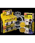 Набор гелевых подводок для глаз и бровей Maybelline Gel eyeliner 2 in 1 фото