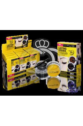 Набор гелевых подводок для глаз и бровей Maybelline Gel eyeliner 2 in 1