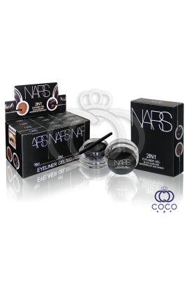 Набор гелевых подводок для глаз и бровей  Nars Gel eyeliner 2 in 1