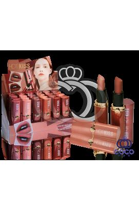 Помада для губ Hot Kiss Lipstick 24 штуки