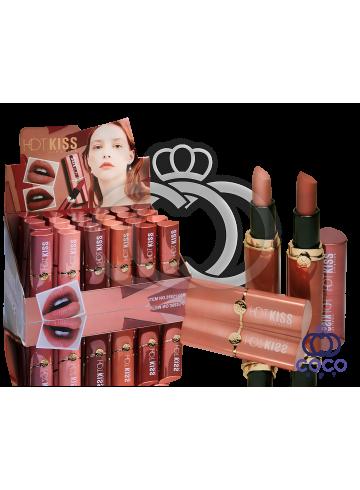 Помада для губ Hot Kiss Lipstick 24 штуки фото