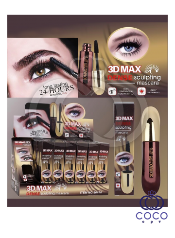 Тушь для ресниц 3D Max Dense Sculpting Mascara фото