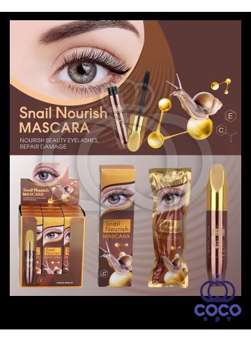 Тушь для ресниц с экстрактом улитки Snail Nourish Mascara фото