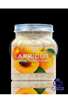 Скраб для тела Wokali Apricot Sherbet Body Scrub с экстрактом абрикоса