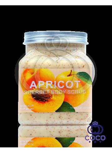 Скраб для тела Wokali Apricot Sherbet Body Scrub с экстрактом абрикоса фото