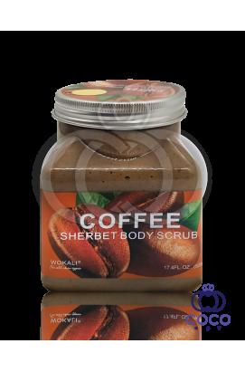 Скраб для тела Wokali Coffe Sherbet Body Scrub с экстрактом кофе