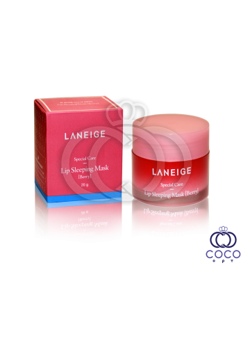 Ночная ягодная маска для губ Laneige фото