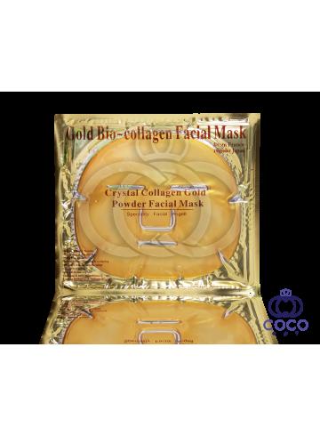 Гидро- гелевая маска для лица Gold Bio-Collagen Facial Mask фото