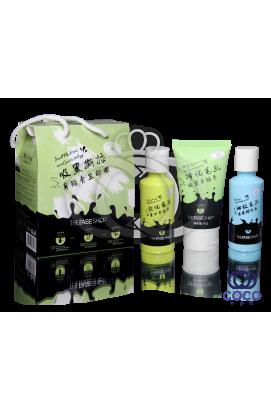 Набор для глубокой чистки пор носа c древесным углём Smell Black Tear Nasal Paste Trilogy трёхступенчатый ПРИМЯТАЯ КОРОБКА