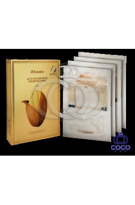 Тканевая маска JMsolution Lacto Saccharomyces Golden Rice Mask с лактобактериями поштучно