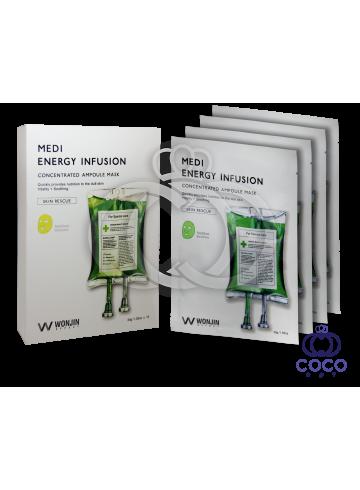 Тканевая инфузионная маска Medi Energy Infusion c омолаживающим эффектом поштучно фото