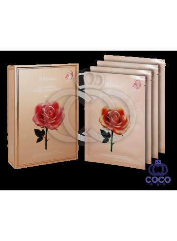Тканевая маска JMsolution Glow Luminous Flower Firming Mask с экстрактом дамасской розы поштучно фото