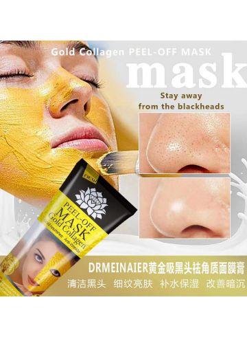 Маска- плёнка Mask Gold Collagen  фото