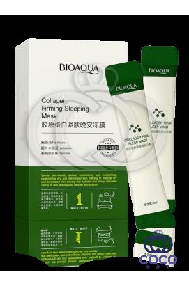Ночная маска для лица Bioaqua Collagen Firming Sleeping Mask 20 саше